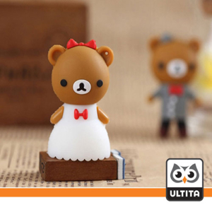 فلش مموری عروس و داماد خرسی Bear Bride Groom