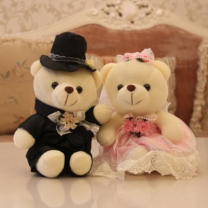 Groom Bearعروس و داماد خرسی