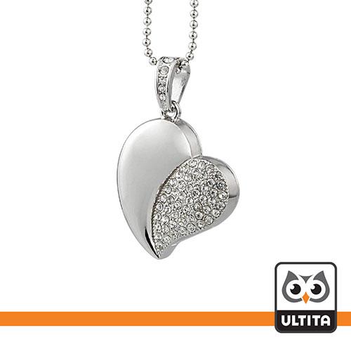 فلش مموری قلب Crystal Heart