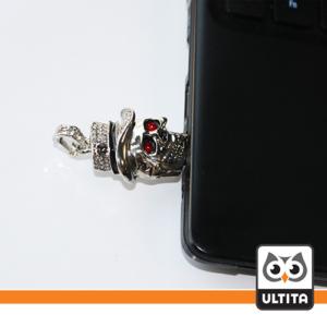 فلش مموری جمجمه فلزی Skull