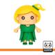فلش مموری دختر سبزپوش Green Girl
