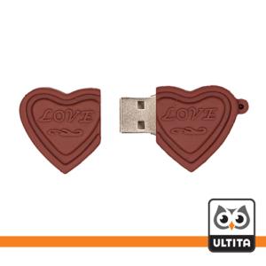 فلش مموری شکلات قلبی Heart Chocolate