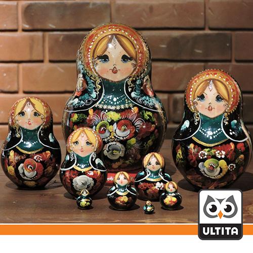 فلش مموری ماتریوشکا (عروسک روسی) Matryoshka
