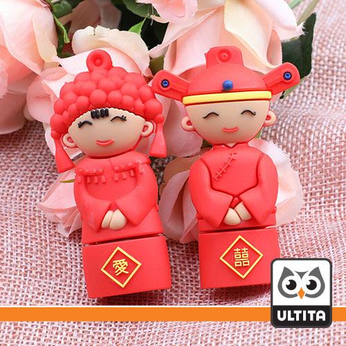 فلش مموری عروس و داماد چینی Chinese bride and groom