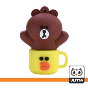 فلش مموری خرس قهوه ای Brown