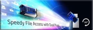compress-Fast flash drive transmission speed